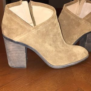 Lucky Brand Salza suede booties